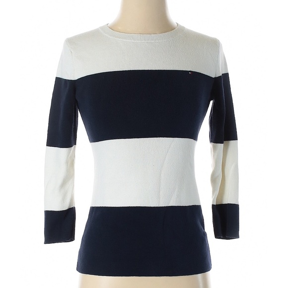 Tommy Hilfiger Classic Striped Pullover Sweater